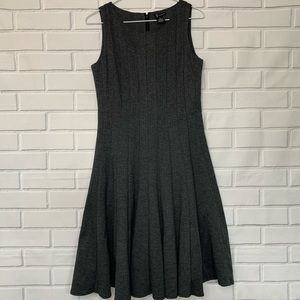 New Directions Sleeveless Career Dress 6 Size Gray